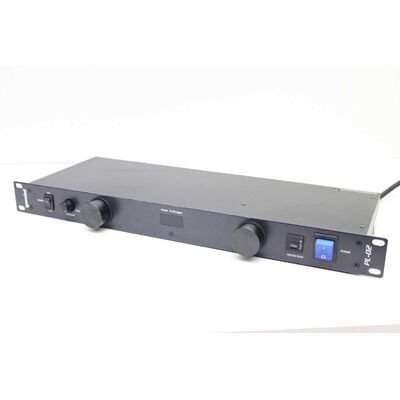 "Used Line Voltage PL-02 Gemini 19"" Rack Mount"