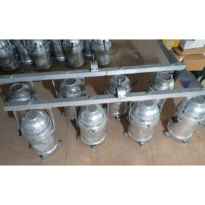 Used Aircraft - AC Lights 8pcs 8x250W with Schuko