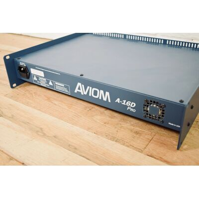 Used Aviom A-16D Pro A-Net Distributor