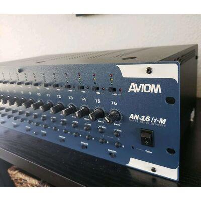 Used Aviom AN-16/i-M Input Module